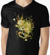 Rey del camuflaje Men's V-Neck T-Shirt