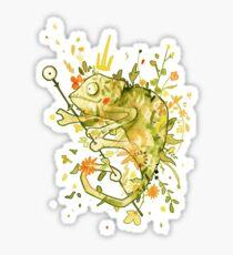 Rey del camuflaje Sticker