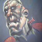 Frankenstein practice by Blueland216