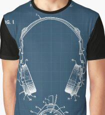 Headphone Graphic T-Shirt