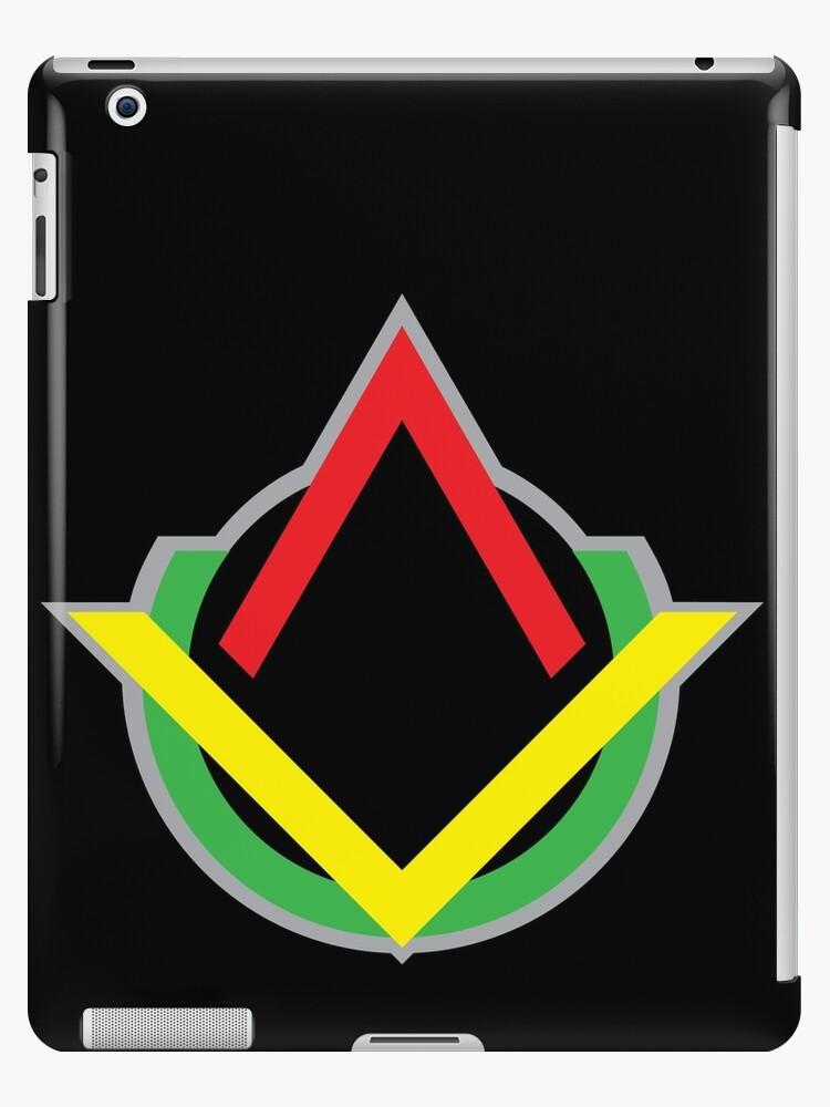 'Unity & Revolution' iPad Case/Skin by GF Design