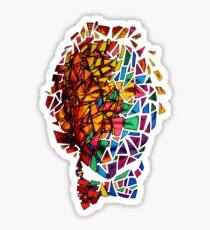 Bill Murray Stained Glass Mosaic Sharpie Marker Art Redbubble Sticker
