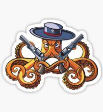 Octopus the Bandit Sticker