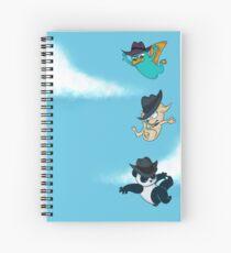 Freefall Spiral Notebook