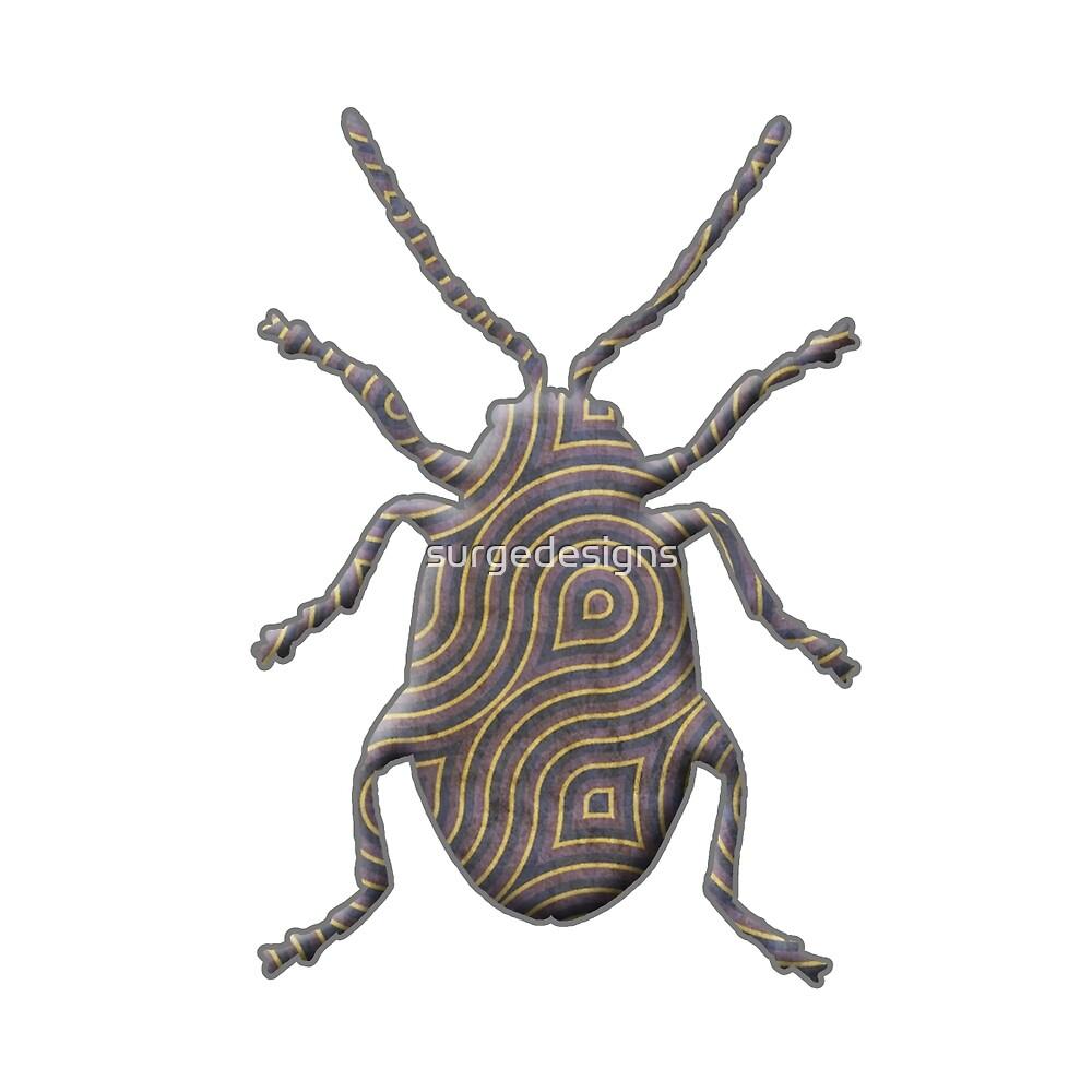 Flea Beetle Silhouette by surgedesigns