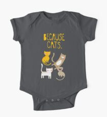 Because Cats. Kids Clothes