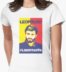 LIBEREN A LEOPOLDO LOPEZ #LibertadYa VENEZUELA T-Shirt