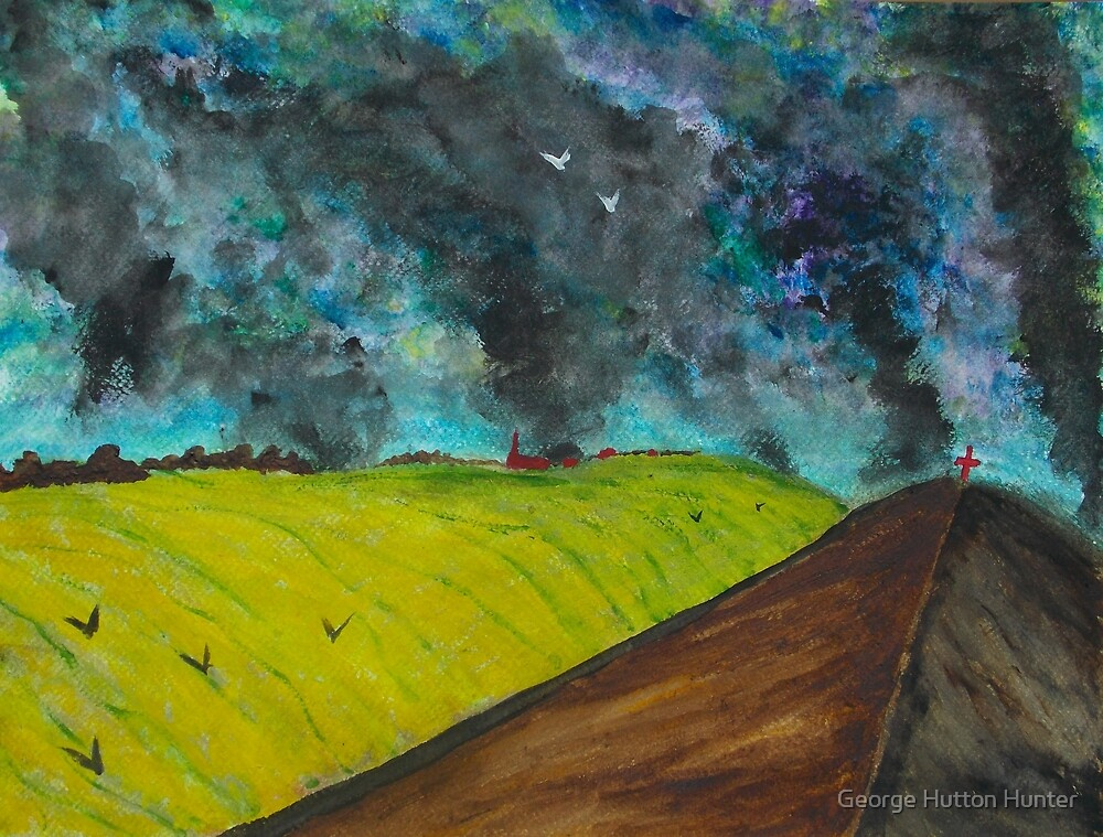 Burning the Land by George Hunter