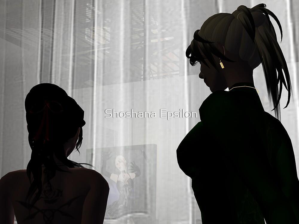 Quiet Conversation by Shoshana Epsilon