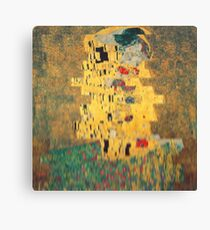 t He k1ss. Canvas Print