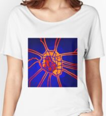 Cartography of the heart Women's Relaxed Fit T-Shirt