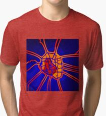 Cartography of the heart Tri-blend T-Shirt