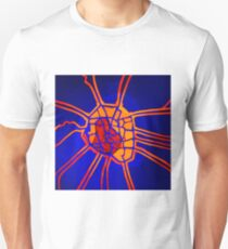 Cartography of the heart Unisex T-Shirt