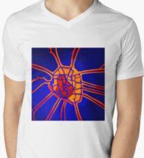 Cartography of the heart Men's V-Neck T-Shirt