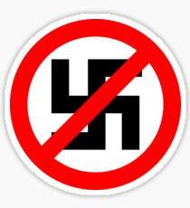 Anti-Nazi Sticker