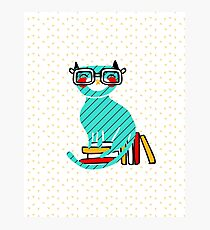 Smart Kitty Photographic Print