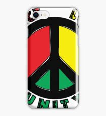 Peace Love UNITY iPhone Case/Skin