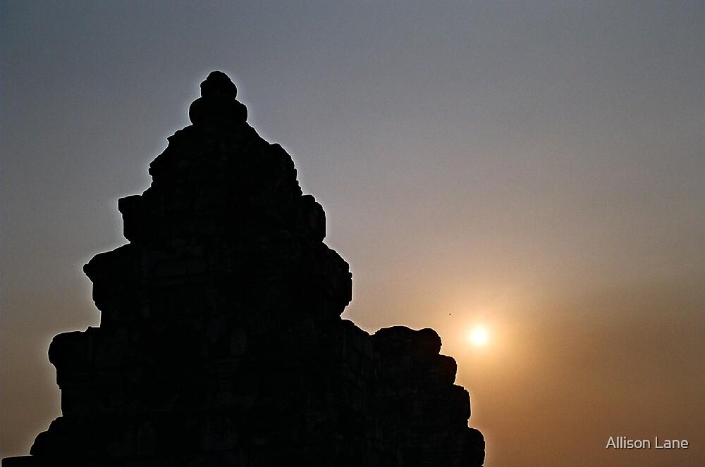Angkor Sunrise by Allison Lane