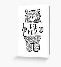 Free Bear Hugs Greeting Card