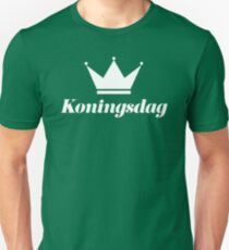 Koningsdag Crown 2017 - King's Day Netherlands Celebration Nederland Unisex T-Shirt
