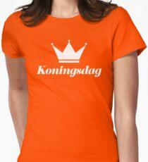 Koningsdag Crown 2017 - King's Day Netherlands Celebration Nederland Womens Fitted T-Shirt