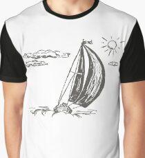 sailing yacht Graphic T-Shirt