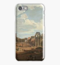 Giovanni Paolo Panini - View Of Rome iPhone Case/Skin
