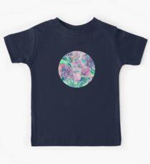 Blossoming - lilac, mint & aqua Kids Tee