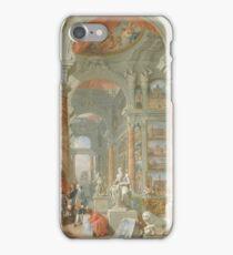 Giovanni Paolo Panini - Modern Rome iPhone Case/Skin