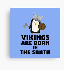 Vikings are born in the South R5l65 Canvas Print