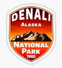DENALI NATIONAL PARK ALASKA MOUNTAINS HIKE HIKING CAMP CAMPING 4 Sticker