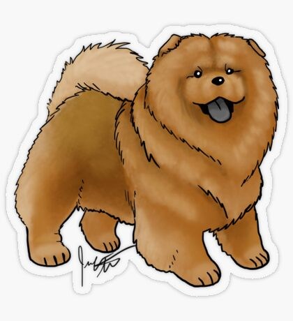 Chow Chow Transparent Sticker