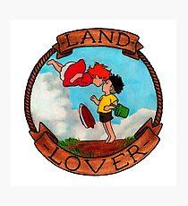 Ponyo - LAND LOVER Photographic Print