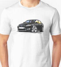 Ford Mondeo (Mk4) X Sport Black Unisex T-Shirt