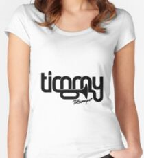 Timmy trumpet Women's Fitted Scoop T-Shirt