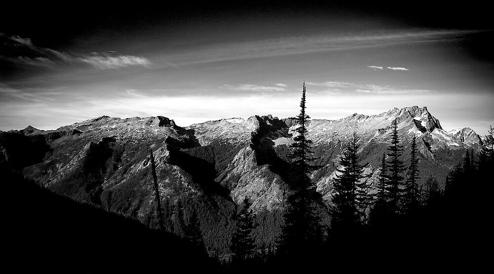 Washington  North Cascades by psychedelicmind