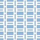 Airy Blue Rectangles by Annie Webster