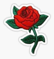 Rose Patch Sticker