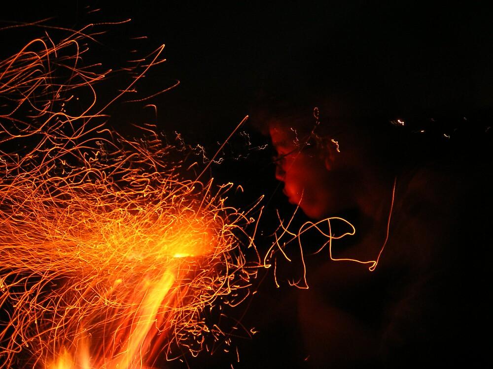 Fire blower by gemmagrace