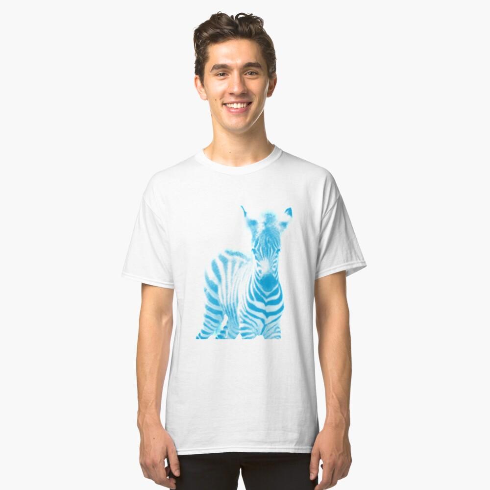 Zebra 02 Classic T-Shirt Vorne