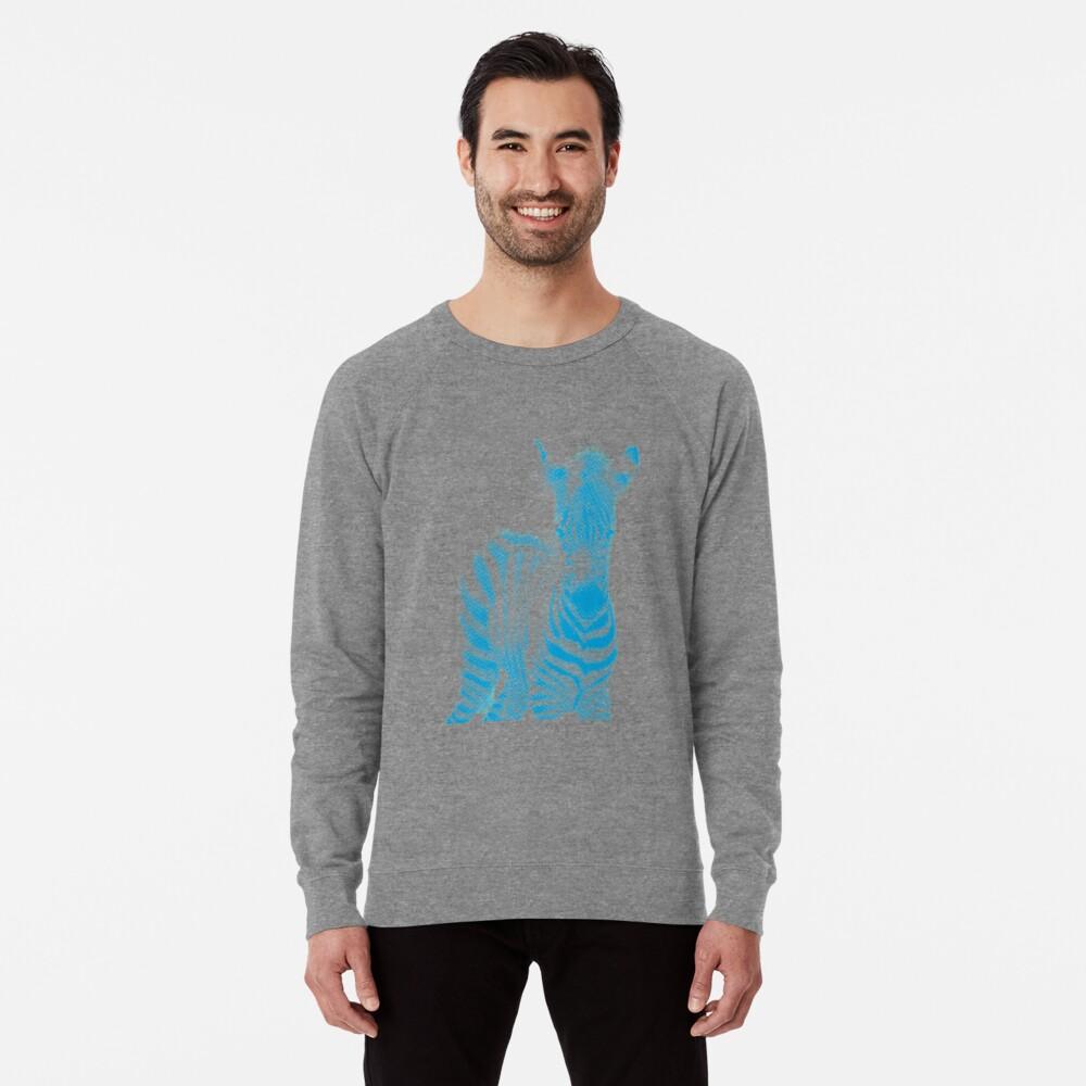 Zebra 02 Leichtes Sweatshirt Vorne