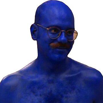 Blue Man #1 by sherineheg
