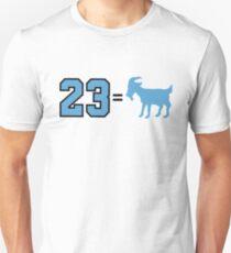 23 = Goat - Jordan, Greatest of All Time Unisex T-Shirt