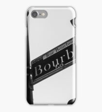 French Quarter Street Sign iPhone Case/Skin