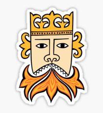 My king Sticker