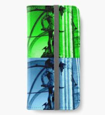 Perseo with Medusa head Coloured pop iPhone Wallet/Case/Skin