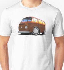 VW Bay Window Camper Van (F) T-Shirt
