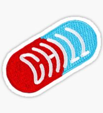 Chill Pill Patch Sticker