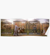 The Pawnee Zoo Poster