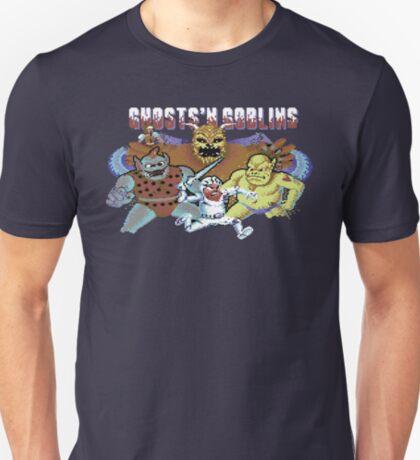 Gaming [C64] - Ghost'n Goblins T-Shirt